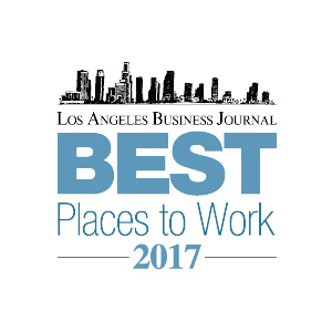 LA Business Journal Best Places to Work 2017