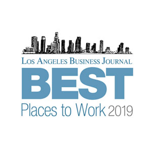 LA Business Journal Best Places to Work 2019